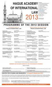 آغاز ثبت نام آکادمی لاهه برای دوره تابستانی ۲۰۱۳