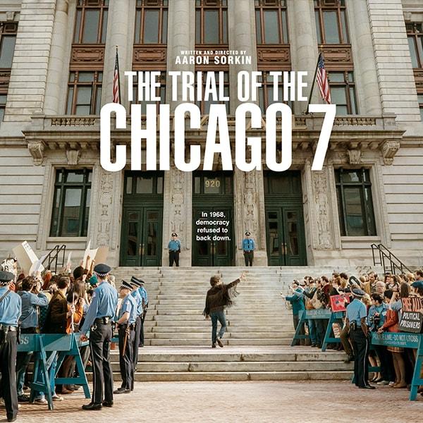 حقوق و سینما: معرفی فیلم «محاکمۀ ۷ شیکاگویی» (۲۰۲۰)