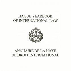 فراخوان مقاله برای سالنامه حقوق بین الملل لاهه _ اردیبهشت ۱۴۰۰